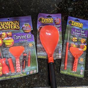 BRAND NEW! 8 piece pumpkin carving set